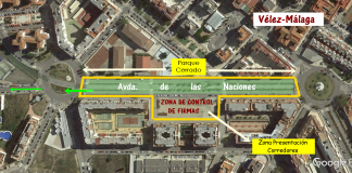 Salida desde la Avenida de las Naciones de Vélez-Málaga el próximo 28 de agosto.