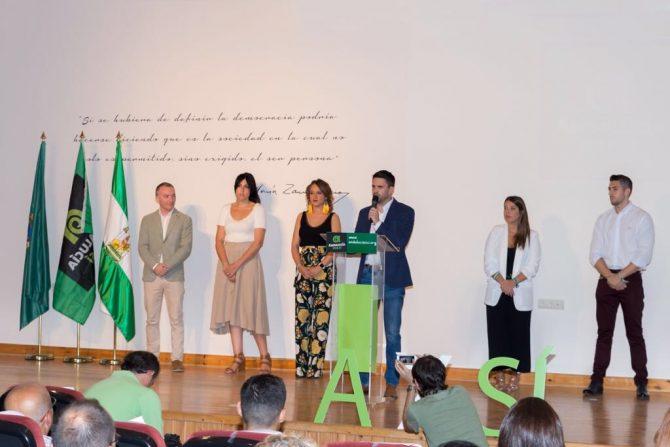 José Pino desborda el Centro del Exilio en su presentación como candidato a las municipales de 2019