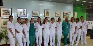 Un total de 20 estudiantes del ciclo formativo de grado medio de Cuidados Auxiliares de Enfermería participan en esa actividad formativa.Un total de 20 estudiantes del ciclo formativo de grado medio de Cuidados Auxiliares de Enfermería participan en esa actividad formativa.