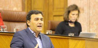 El diputado malagueño de Ciudadanos (Cs) Carlos Hernández White .
