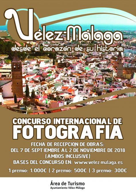 Concurso internacional de fotografía con el título: 'Vélez-Málaga, desde el corazón de su historia'