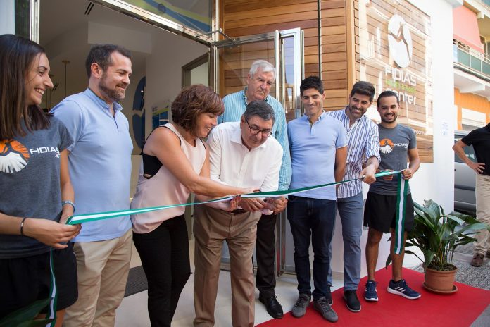 Momento de la inauguración del centro FIDIAS Vélez ubicado en la calle Federico Téllez Macías, 9.
