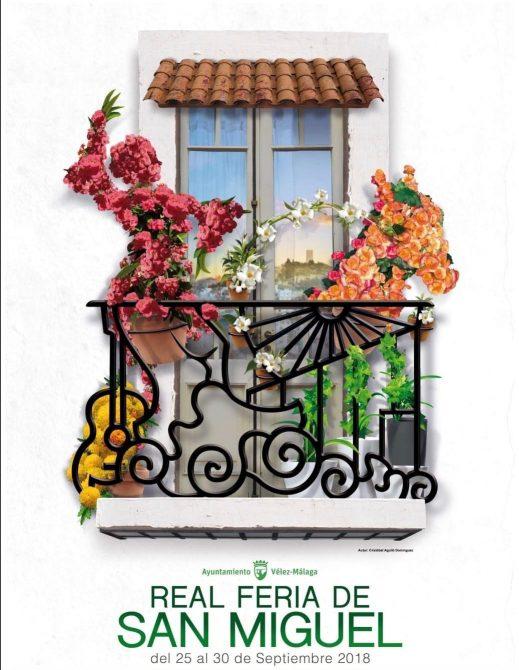Presentado el cartel de la Real Feria de San Miguel 2018 de Vélez Málaga