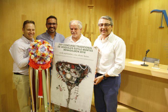 Benagalbón celebra la 25º edición de su Tradicional Concurso de Verdiales