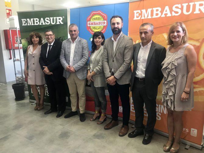 Moreno Ferrer y el consejero de Empleo destacan el carácter potenciador de empleo y riqueza del Parque Tecnoalimentario