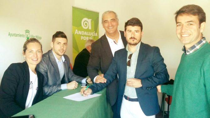El veleño José Manuel Moreno, elegido candidato de Andalucía Por Sí por Málaga para las próximas Elecciones Autonómicas