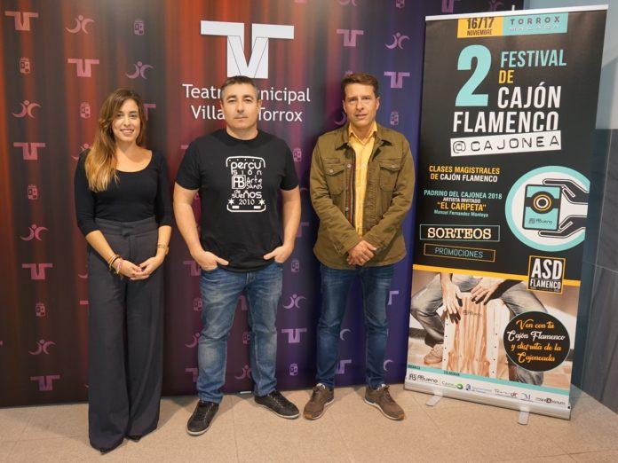 El segundo Festival de Cajón Flamenco, impulsado por el Consistorio en colaboración con el artesano local Antonio Bueno, se desarrollará en el Teatro Villa de Torrox los días 16 y 17 de noviembre.