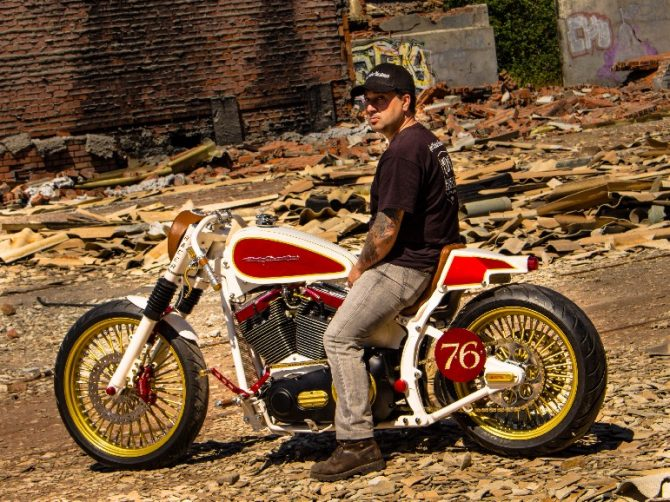 El veleño Francisco Ali Manén proclama Subcampeón del Mundo en el Mundial de Constructores y Customizadores de motos en la categoría Harley Modificada