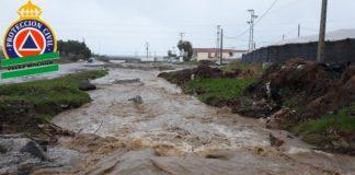 Protección Civil Vélez-Málaga ha desarrollado diviesos trabajos en el municipio la tarde de este martes.