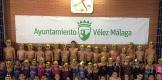 El club axárquico se presentaba con un total de 81 nadadores