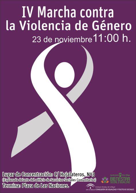 Vélez-Málaga reivindica una vez más la erradicación de la violencia machista