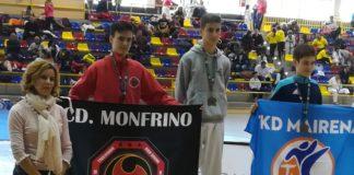 El taekwondista veleño Erik Valverde Aguilar, perteneciente al CD Monfrino,.