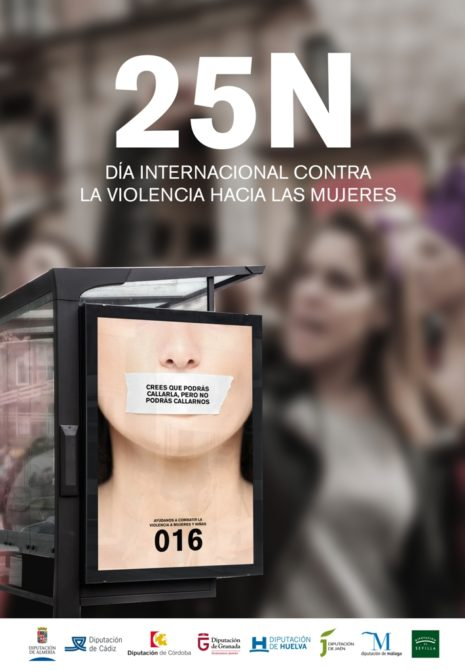 La Diputación presenta un variado programa de actividades con motivo del Día Internacional de la Eliminación de la Violencia contra la Mujer