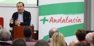 El candidato socialista al parlamento andaluz y secretario general del PSOE de Málaga, José Luis Ruiz Espejo.