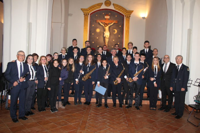 Concierto navideño de la Banda de Música de El Borge.