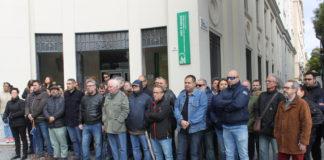 CCOO y UGT de Málaga han convocado esta mañana una concentración, a las 12:00 horas, como repulsa por el accidente laboral mortal ocurrido en Torre del Mar.