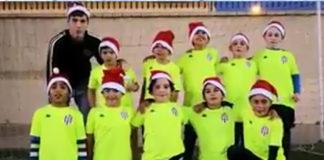 Los más pequeños del Vélez C.F. han realizado un original video para felicitar estas fiestas tan entrañables a todos los aficionados y vecinos.