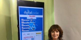 a concejala de Empresa y Empleo, ha presentado la programación de los talleres gratuitos de habilidades digitales para mujeres que se desarrollarán en Vélez-Málaga este año 2019.