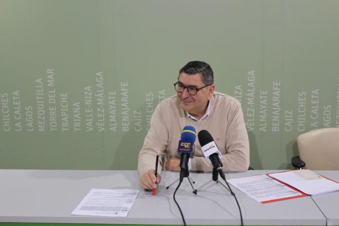 El alcalde de Vélez-Málaga, Antonio Moreno Ferrer.