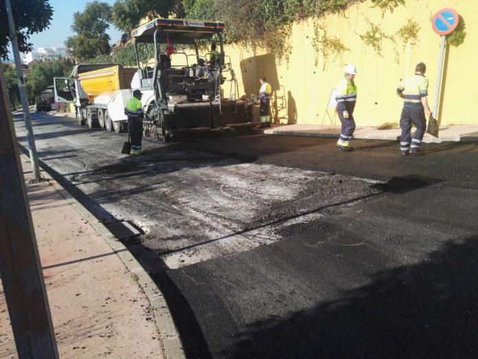 Se trata de la mejora del pavimento de un total de diez calles.