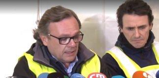 El ingeniero Angel García Vidal ha explicado los últimos avances en la construcción del túnel vertical.