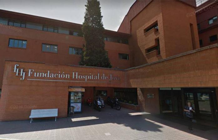 Fachada del hospital de Jove. GOOGLE MAPS.