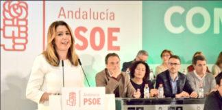 La dirigente socialista ha recordado que el PSOE-A ganó el pasado 2 de diciembre en 617 municipios de la Comunidad Autónoma.