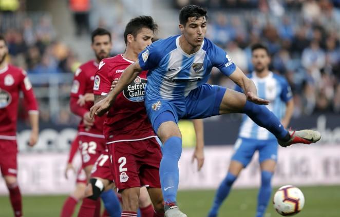 La Rosaleda fue una caldera presentando la segunda mejor entrada de la temporada en el #MálagaDépor.