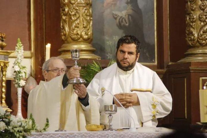 Misa Funeral en la Iglesia de San Francisco por Julen. /Foto: Iglesia de San Francisco Vélez-Málaga
