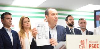 Ruiz Espejo exige al Gobierno andaluz respeto a los profesionales y trabajo en favor del prestigio de la sanidad pública.
