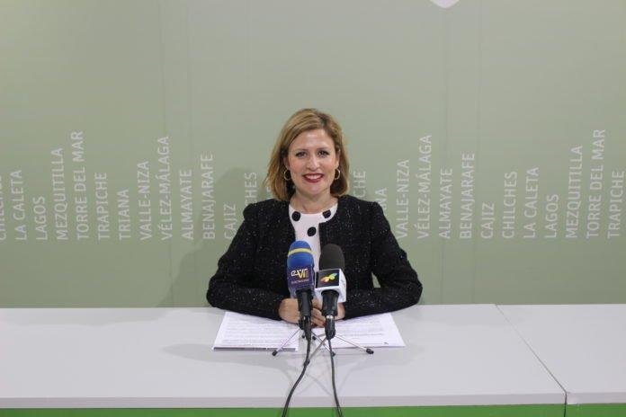 La concejala de Comercio, María Santana.