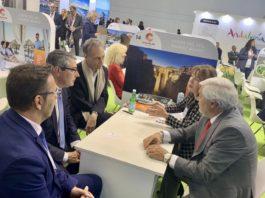 Reunión en la Feria Internacional de Turismo de Berlín (ITB).