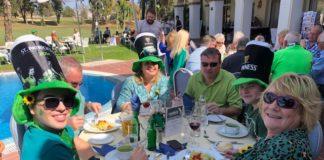 Las Cudeca Goldies celebraron el Día de San Patricio en el Tamisa Golf Hotel de Mijas junto a muchos otros amigos irlandeses y de varias nacionalidades.