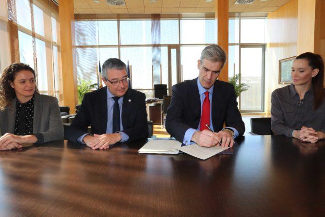 Firmado el protocolo de intenciones para la celebración de la Copa del Rey 2020 en Málaga