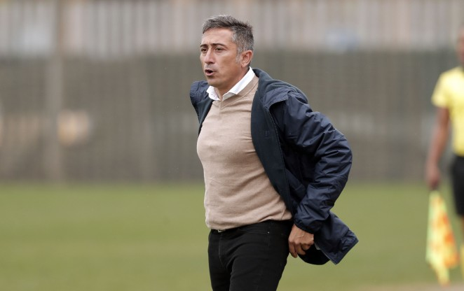 El técnico del Málaga CF Femenino valoró positivamente la victoria cosechada ante el Fundación Albacete (4-2):