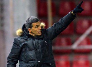 El técnico del Málaga CF analizó en la sala de prensa de Los Pajaritos el empate (1-1) ante el CD Numancia.
