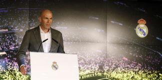 Rueda de prensa de presentación de Zinedine Zidane como nuevo entrenador del Real Madrid.