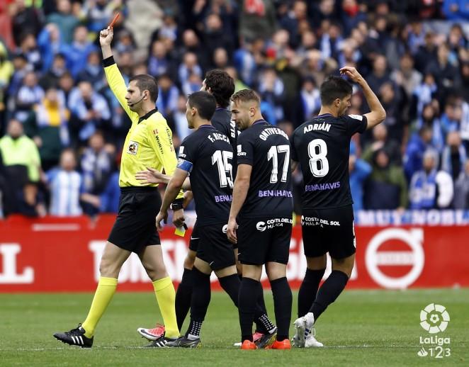 Los tres jugadores del Málaga CF causarán baja el próximo partido en casa ante el Extremadura UD tras hacerse públicas, este miércoles, las resoluciones del Comité de Competición de la RFEF.