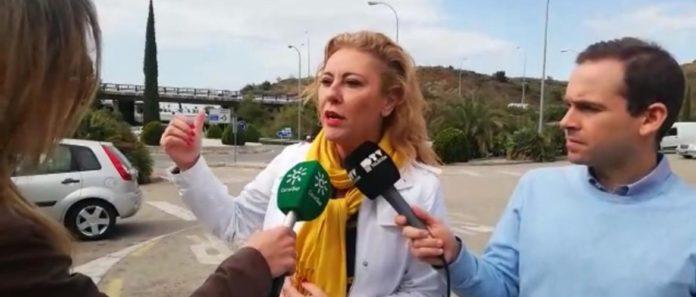 La candidata por el Partido Popular de Málaga al Congreso de los Diputados Carolina España.