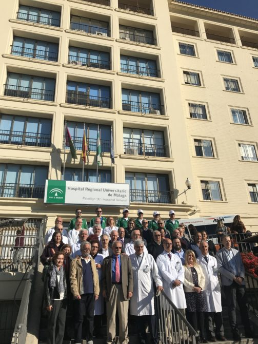 El Hospital Regional Universitario de Málaga celebra el 40 aniversario del primer trasplante de órganos con más de 4.500