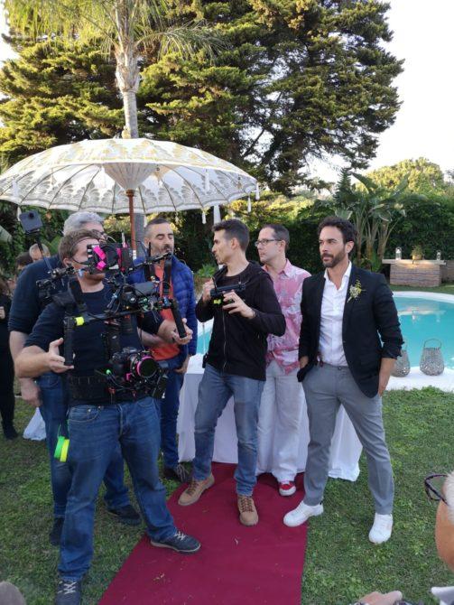 La producción malagueña 'Perdices felices' se emitirá a nivel autonómico y nacional ha contado con el apoyo de la oficina de rodajes comarcal Axarquía Film Office en la búsqueda de localizaciones y gestión de permisos.