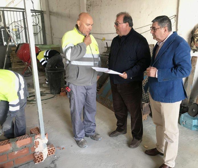 Las obras que se están ejecutando con recursos municipales y que suponen una inversión de unos 260.000 euros.