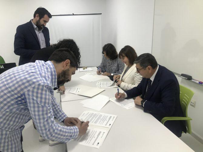El vivero de empresas de Vélez-Málaga completa su ocupación
