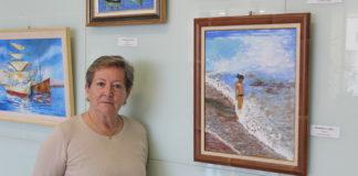 La colección de óleos de esta artista está compuesta por 12 obras cuidadosamente seleccionadas.