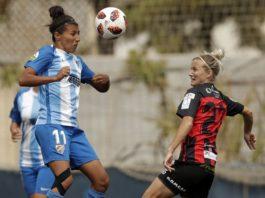 El cuadro blanquiazul anotó en el 24' gracias a un gol de cabeza de Marta Cazalla y dominó el encuentro hasta el 93', cuando el Sporting de Huelva empató el partido.