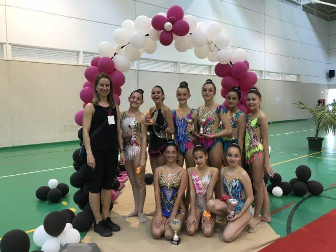 El Club Gimnasia Rítmica Costasol cosecha buenos resultados en la Final del circuito Al Ándalus