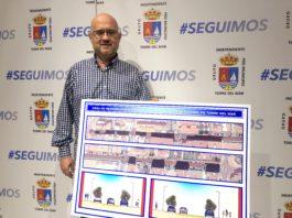 El portavoz y candidato del Grupo Independiente Pro Municipio de Torre del Mar a la alcaldía de Vélez-Málaga, Jesús Pérez Atencia.