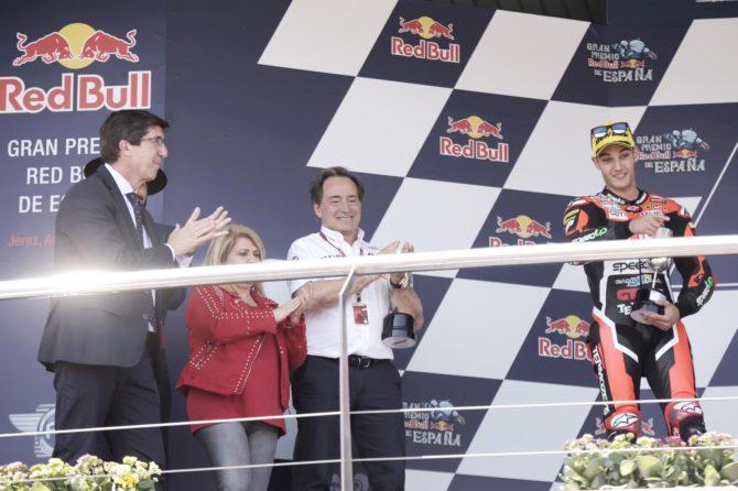 La Junta garantiza el respaldo al Gran Premio de Motociclismo de Jerez durante los próximos años