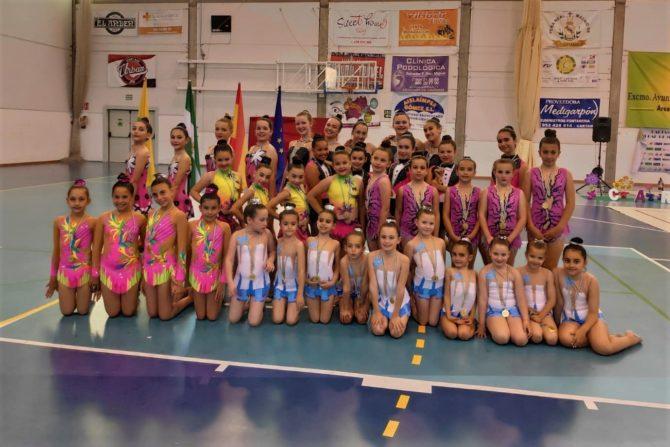 El club GYMCOSTA logra  excelentes resultados en VIII Torneo Gimnasia Rítmica Cártama