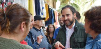 """Dani Pérez, candidato a la Alcaldía: """"El Partido Socialista no le va a abrir la puerta a participar de ninguna decisión de los malagueños y las malagueñas a un partido como Vox""""."""